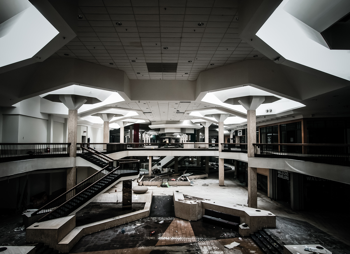 The Abandoned Randall Park Mall, Once the Largest Mall on ... |Randall Park Mall 2013