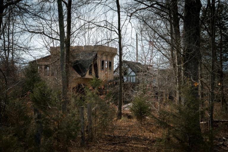 Abandoned Sherwood Forest Renaissance Faire