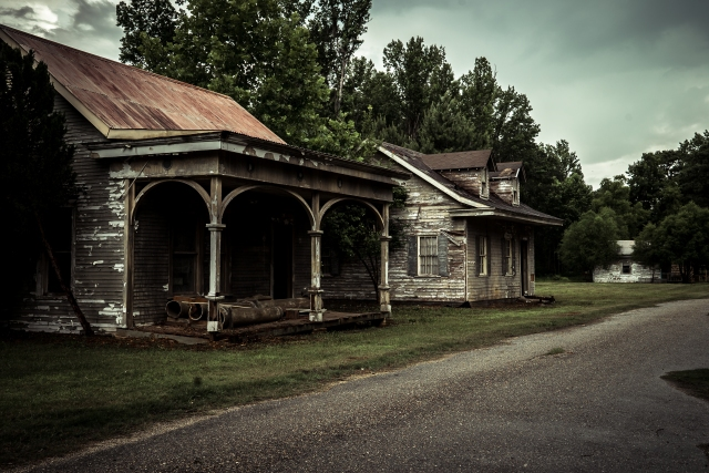 The Abandoned Town Of Spectre Architectural Afterlife