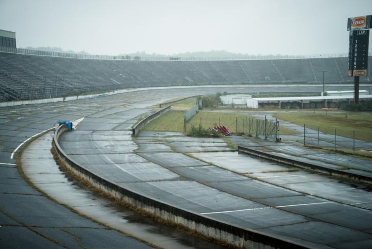 Abandoned North Wilkesboro Speedway North Carolina