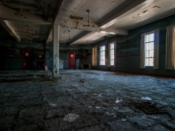 Abandoned Detroit Naval Base Training Center
