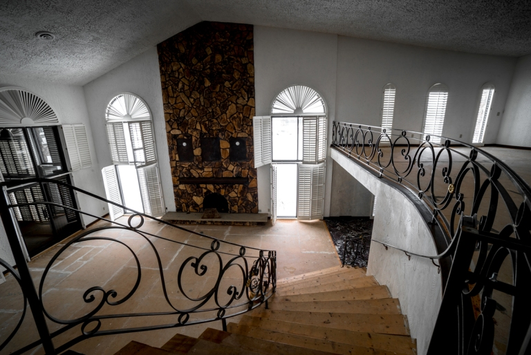 Mike Tyson's Abandoned Mansion Ohio