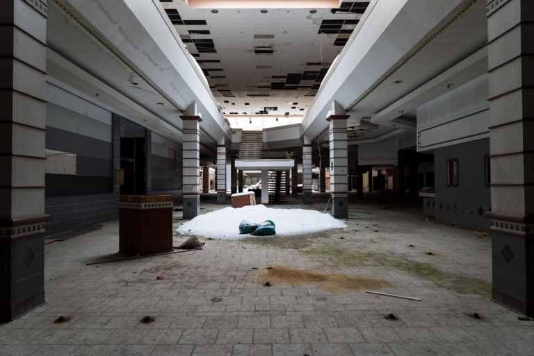 Abandoned Rolling Acres Mall Akron Ohio