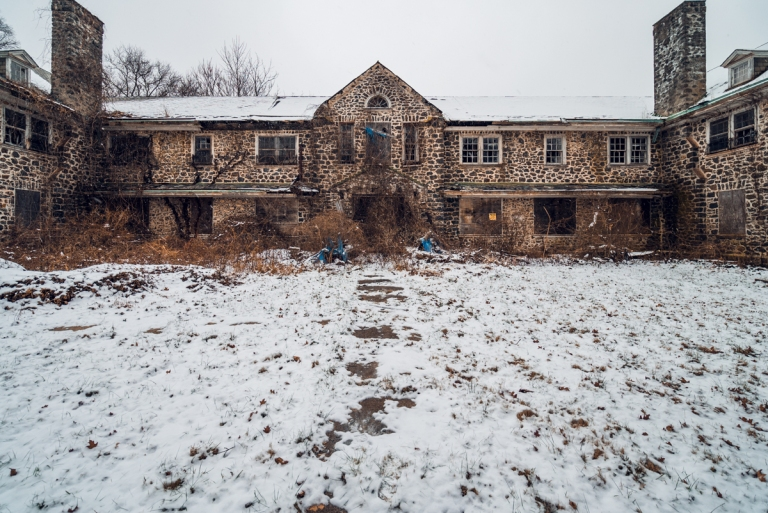 Abandoned Sleighton School Village Pennsylvania