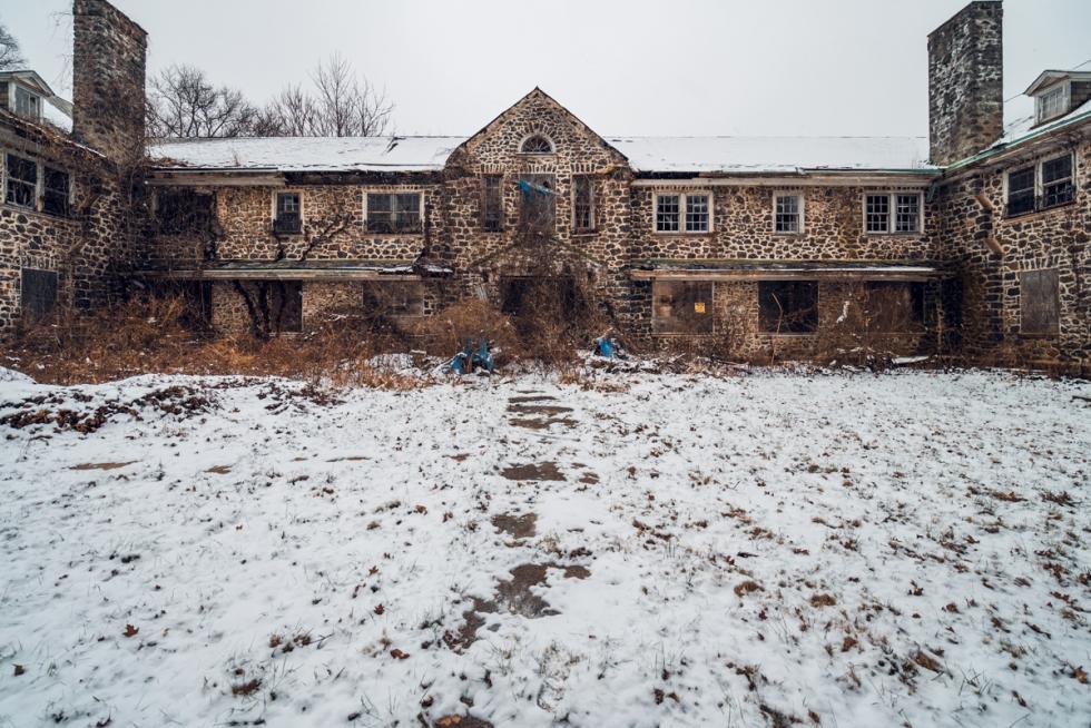 Abandoned Sleighton School Village Pennsylvania