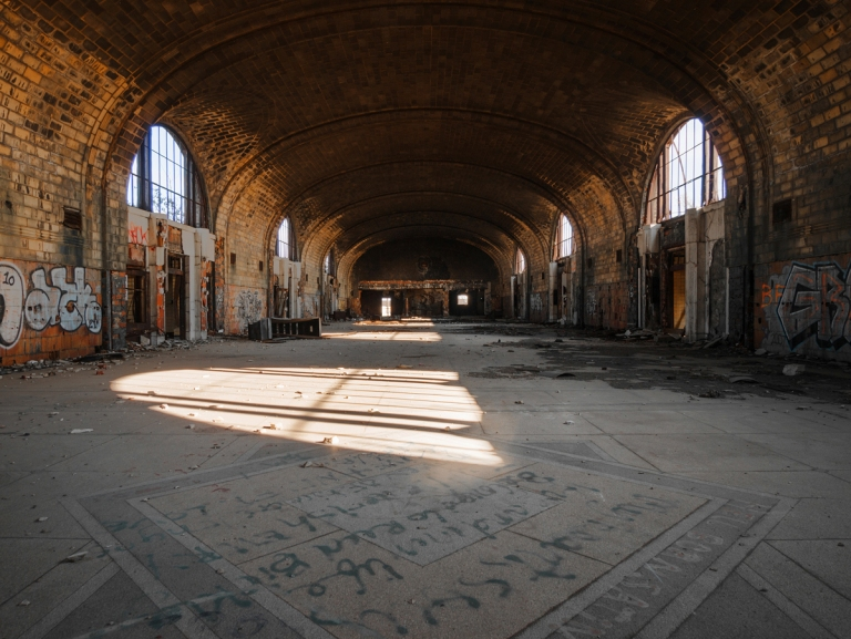 Abandoned East Central Station Buffalo New York