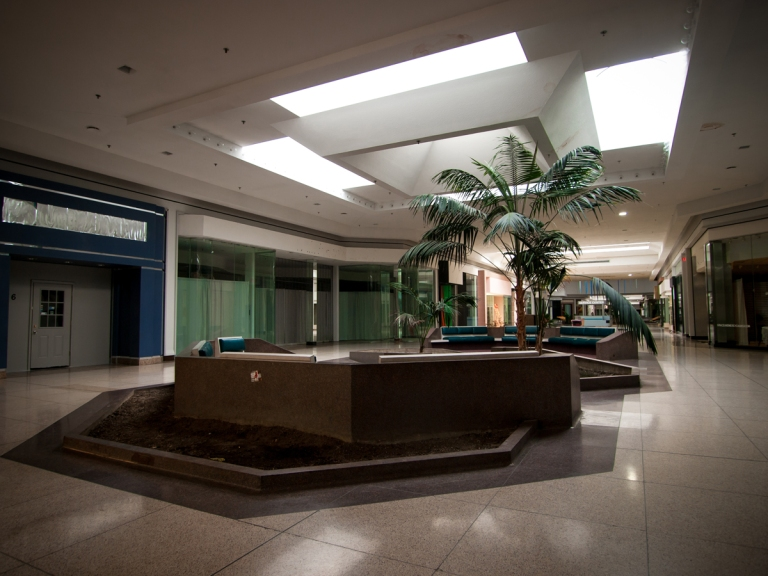 Abandoned Euclid Square Mall Ohio