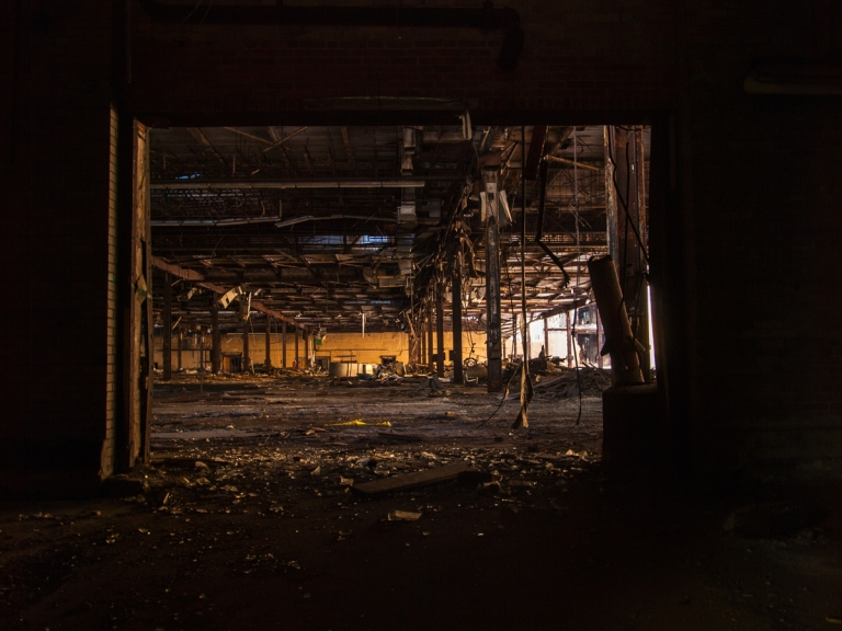 Abandoned Industrial Rayon Plant