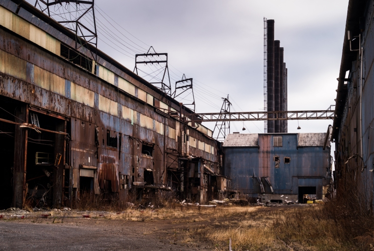 Warren Steel Abandoned Ohio