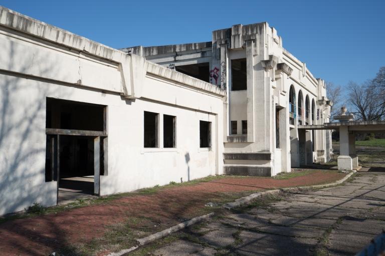 Joplin Union Depot Abandoned