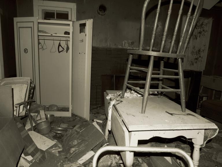 Abandoned Crackhouse Headlands Ohio 2009