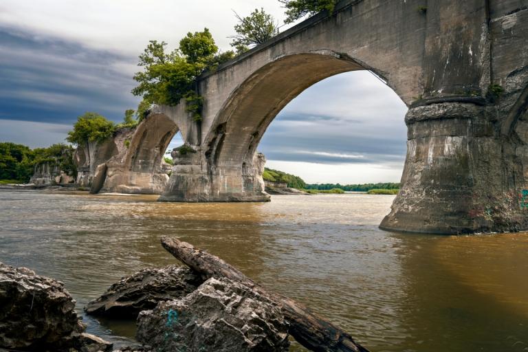 Abandoned Interurban Bridge Waterville Ohio 2