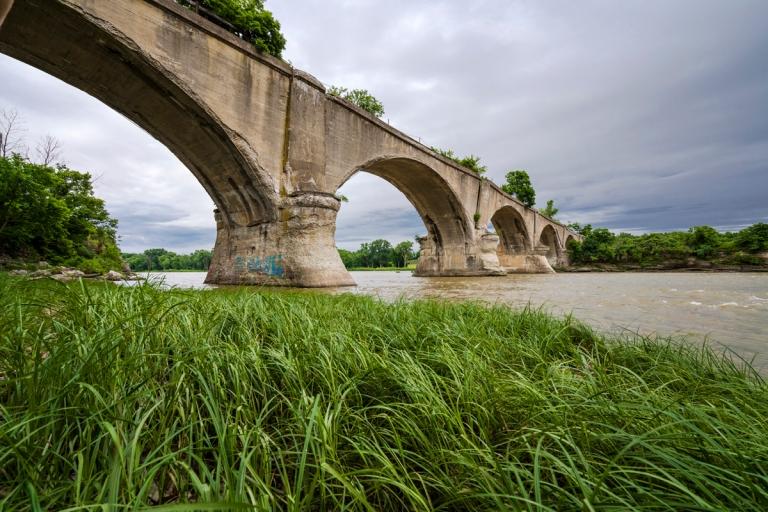 Abandoned Interurban Bridge Waterville Ohio 6