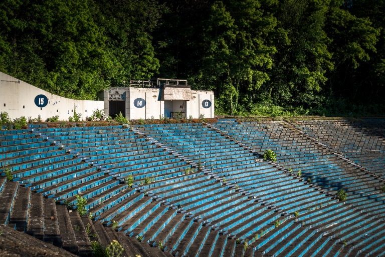 Akron Rubber Bowl Stadium Abandoned 10