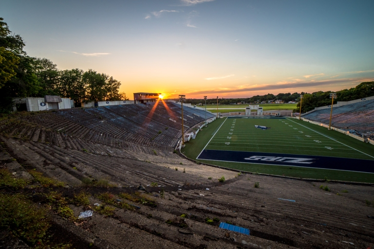 Akron Rubber Bowl Stadium Abandoned 31