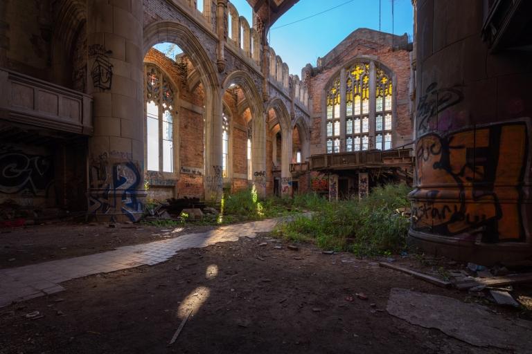 Abandoned Methodist Church Gary Indiana